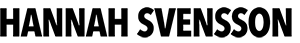 HANNAH SVENSSON Logo